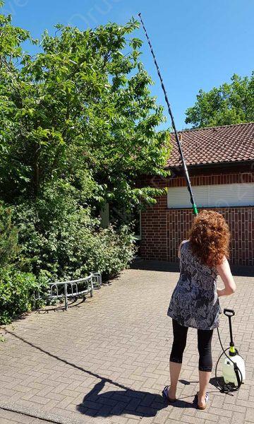 KWT500 Teleskoplanze 5m erleichtert die Baumpflegearbeit
